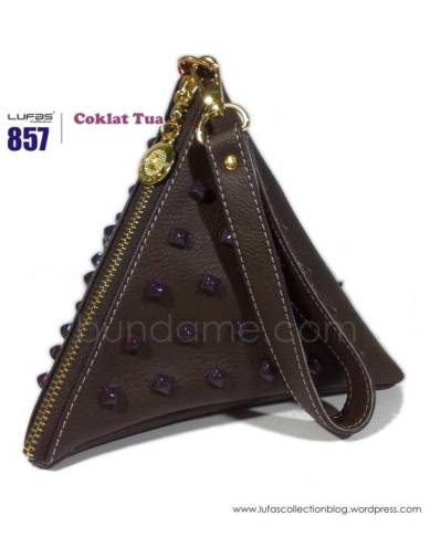 dompet lufas 857 coklat tua