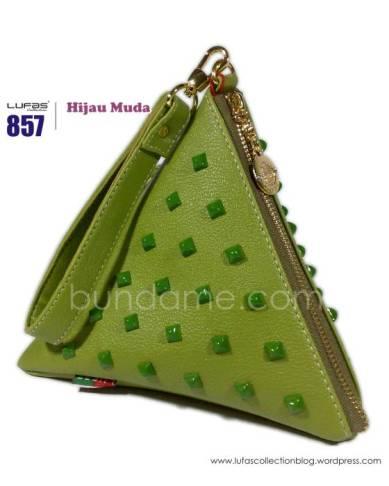 dompet lufas 857 hijau muda