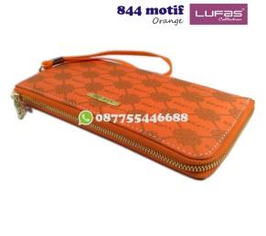 dompet lufas 844motif - orange