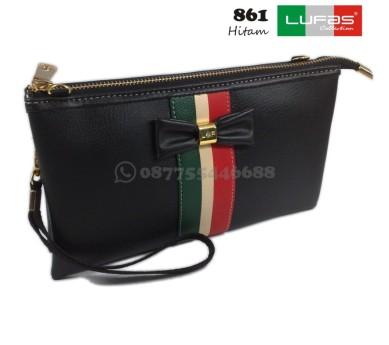 dompet lufas 861 hitam