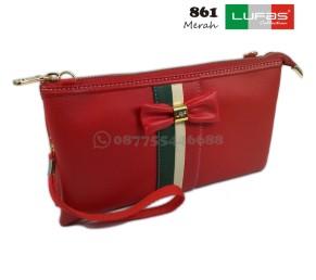 dompet lufas 861 merah