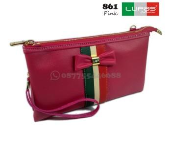 dompet lufas 861 pink