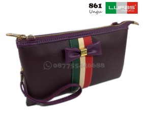 dompet lufas 861 ungu