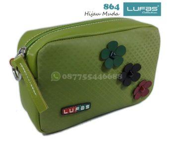 dompet lufas 864 hijau muda