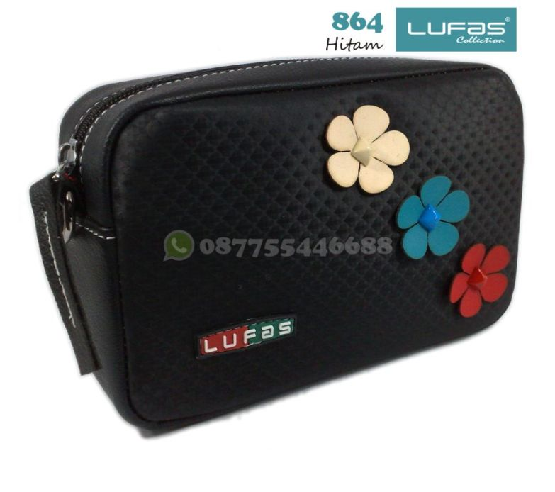 dompet lufas 864 hitam