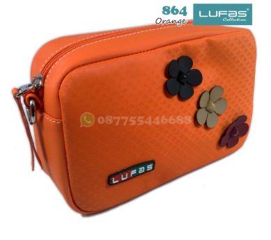 dompet lufas 864 orange