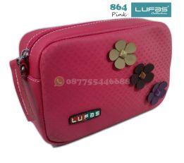 dompet lufas 864 pink