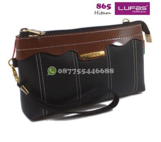 dompet lufas 865 hitam