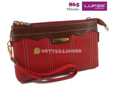 dompet lufas 865 merah