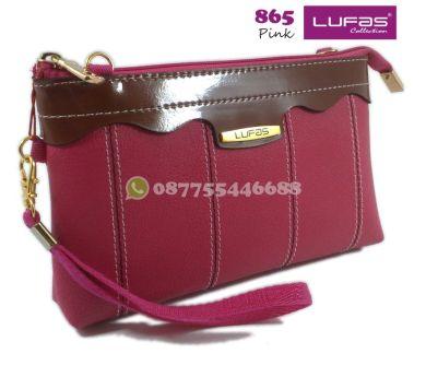 dompet lufas 865 pink