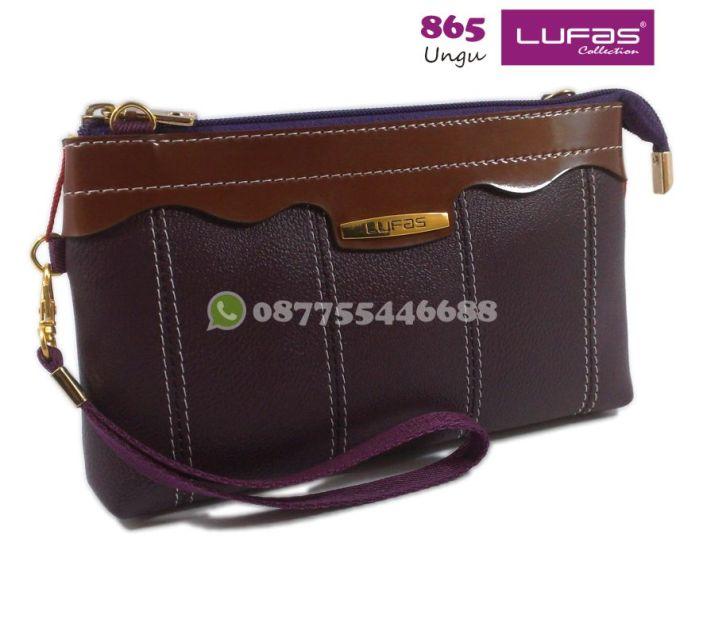 dompet lufas 865 ungu