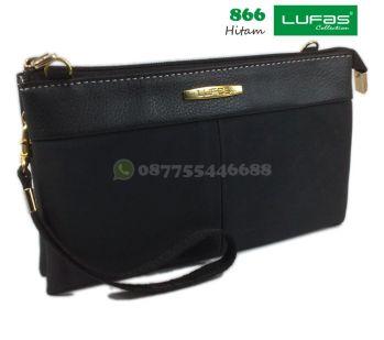 dompet lufas 866 hitam
