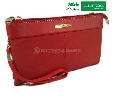 dompet lufas 866 merah