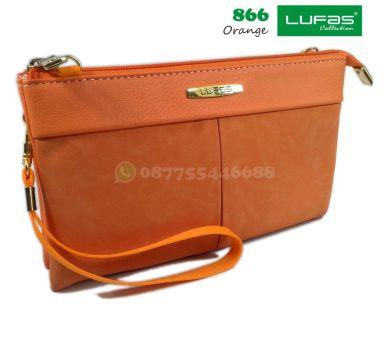 dompet lufas 866 orange