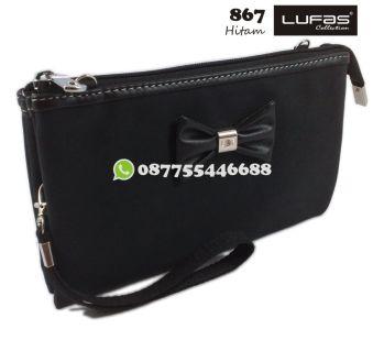 dompet lufas 867 hitam