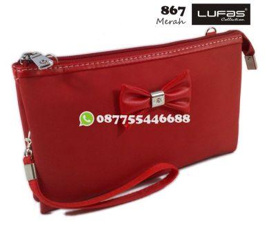 dompet lufas 867 merah