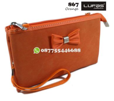 dompet lufas 867 orange