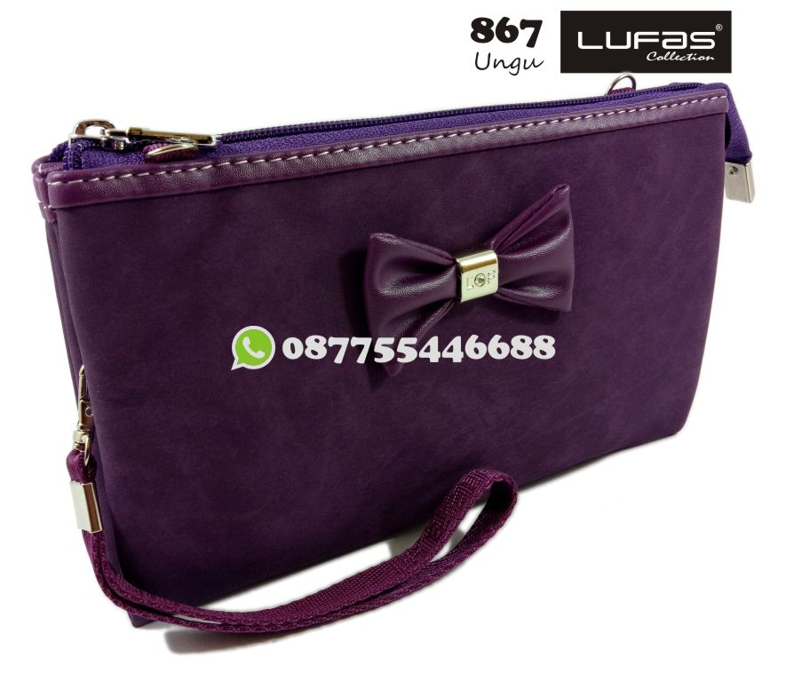 dompet lufas 867 ungu