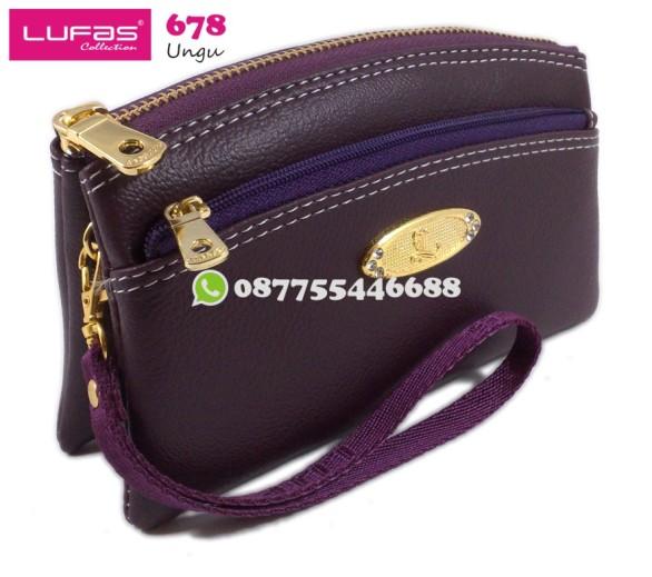 dompet lufas 678 ungu