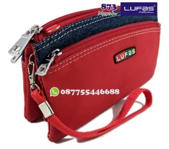 dompet lufas 873 merah