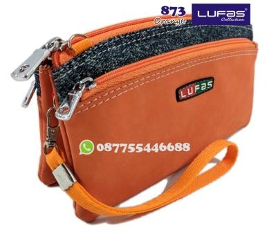dompet lufas 873 orange
