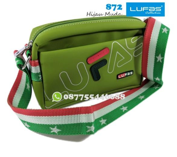 tas lufas 872 hijau muda