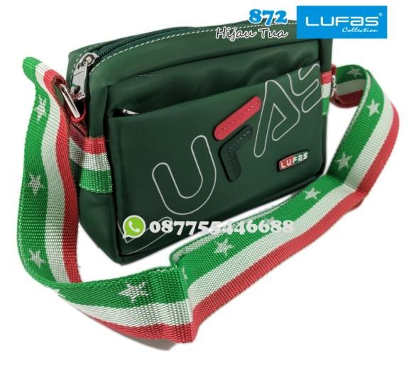 tas lufas 872 hijau tua