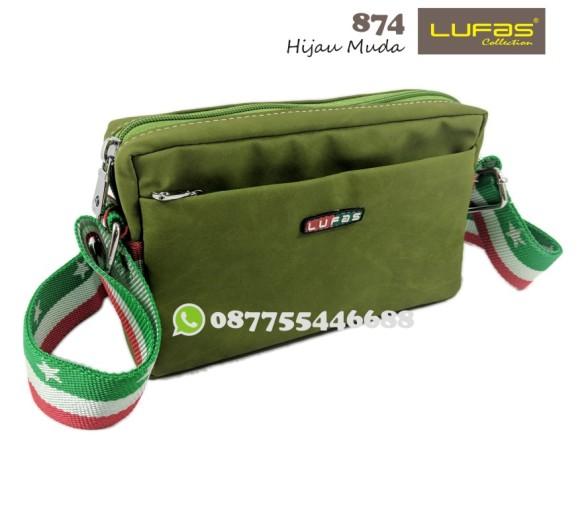 tas lufas 874 hijau muda