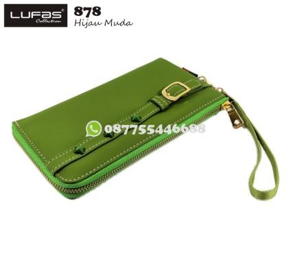 dompet lufas 878 hijau muda
