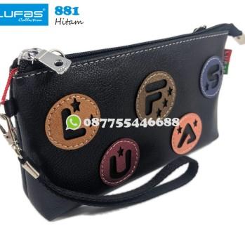 dompet lufas 881 hitam
