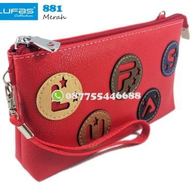 dompet lufas 881 merah