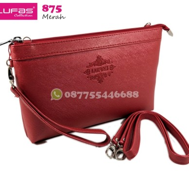 tas lufas 875 merah